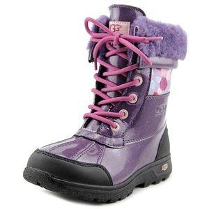 UGG Butte Boots purple NWT Fits kids 4, Women's 6